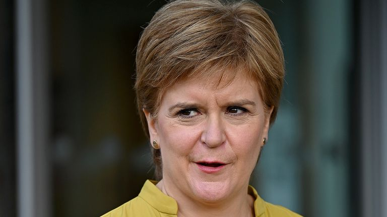 Ms Sturgeon's sister has been released on an undertaking to appear at Kilmarnock Sheriff Court at a later date