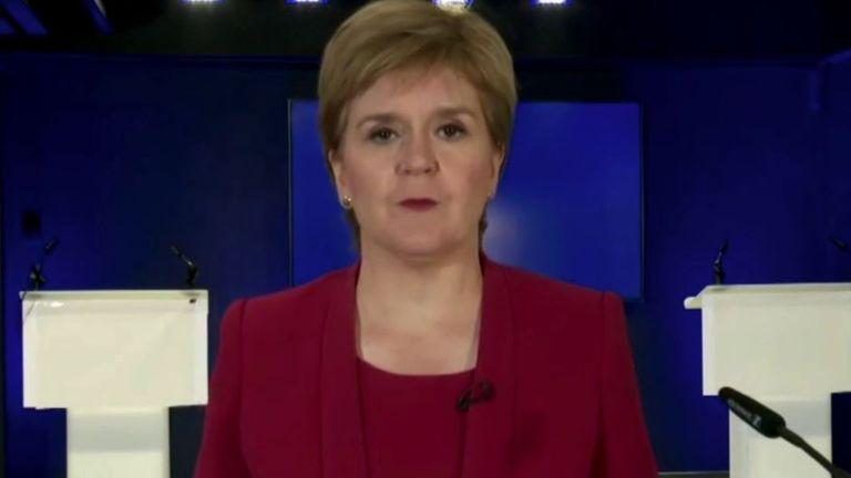 Nicola Sturgeon holds coronavirus briefing