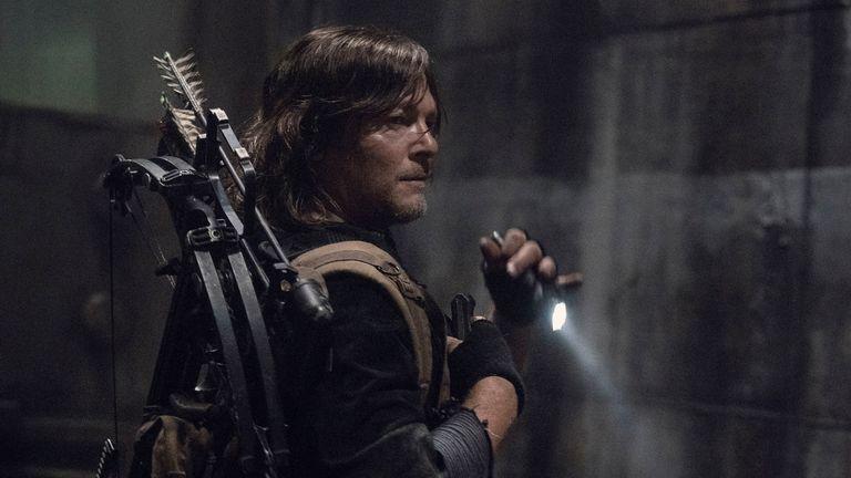 Norman Reedus comme Daryl Dixon - The Walking Dead _ Saison 11 - Crédit photo : Josh Stringer/AMC
