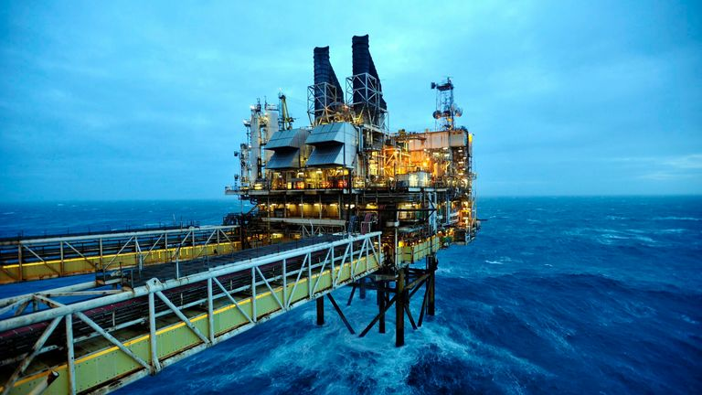The UK government is being sued after it granted BP a new drilling licence in the North Sea