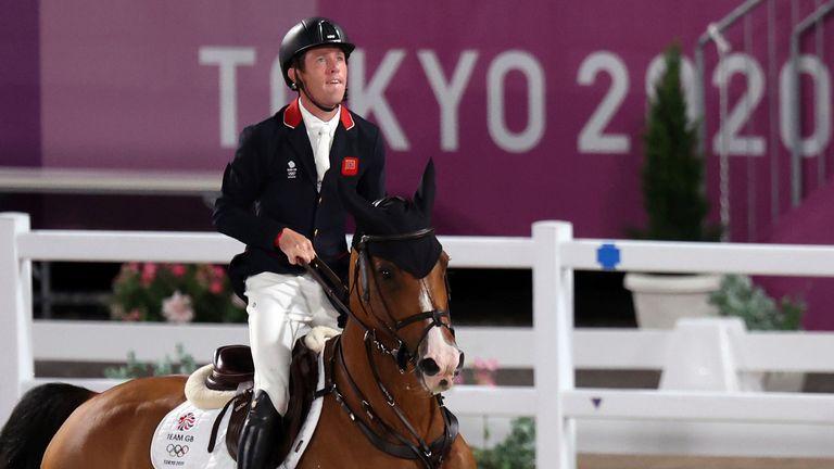 Great Britain's Scott Brash. Pic: AP