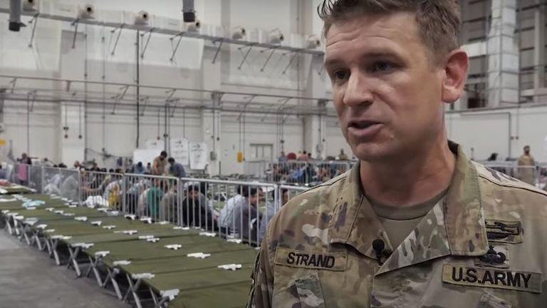Lt Col Matt Strand - US soldier at Al Udeid