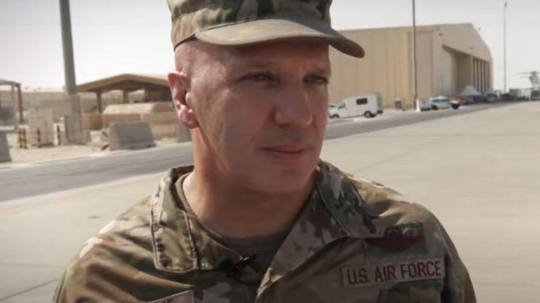 Brigadier General Gerald Donohue - US officer at Al Udeid