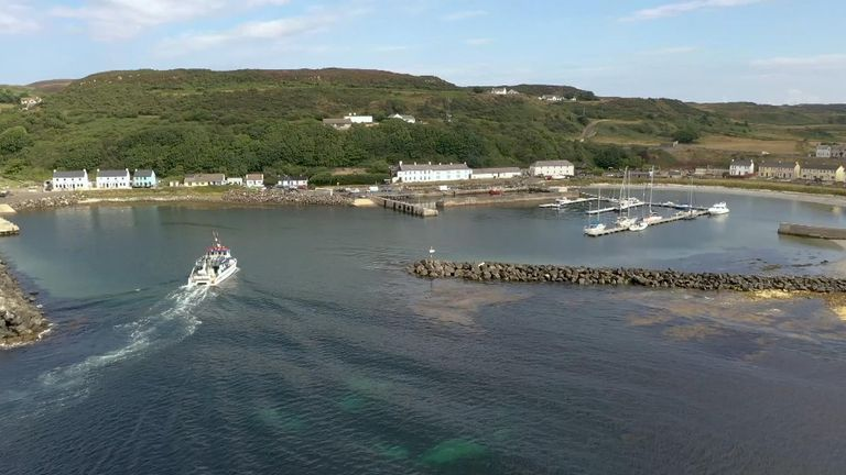 Six miles off the Northern Irish coast, Rathlin Island has an ambitious carbon neutral target