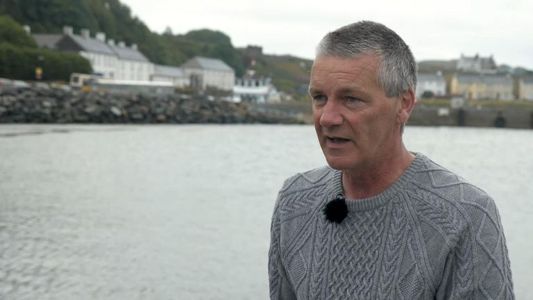Michael Cecil, the Chairman of Rathlin Development Association said there are now possibilities with hyrdrogen-fuelled ferries
