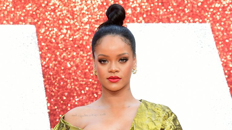 The majority of her fortune, an estimated $1.4bn (£1bn), comes from her Fenty Beauty business that she launched in 2017