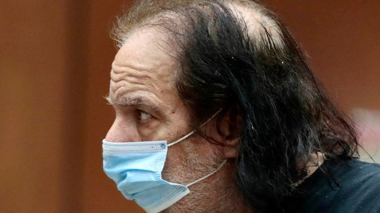 Ron Jeremy is in court on several sexual assault charges. File pic: Reuters