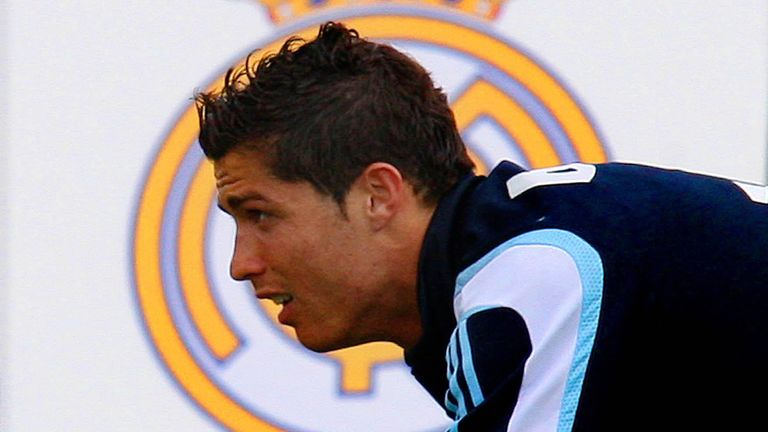 Ronaldo joined Real Madrid for a world record fee in 2009