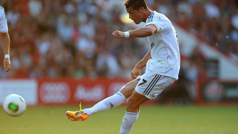 Ronaldo scored more than a goal a game for Real Madrid