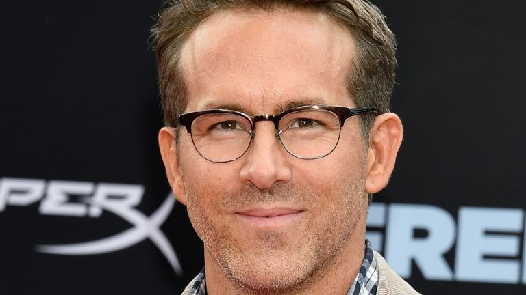 Ryan Reynolds at the premiere for Free Guy in New York in August 2021. Pic: Evan Agostini/Invision/AP