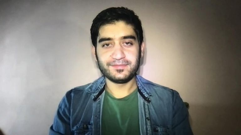 Safi had turned down a job offer in an important diplomatic mission to go to university in the UK next month Sharif Safi