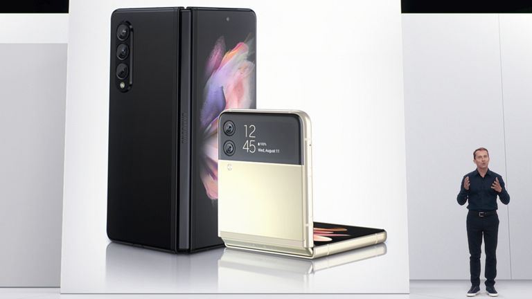 Samsung is launching the new Samsung Galaxy Z Fold3 and Z Flip