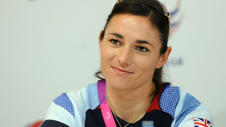 Great Britain's Sarah Storey speaks to the media during a ParalympicsGB press conference at ParalympicsGB House, London. PRESS ASSOCIATION Photo. Picture date: Sunday September 9, 2012. See PA story PARALYMPICS Press Conferences. Photo credit should read: Anna Gowthorpe/PA Wire
