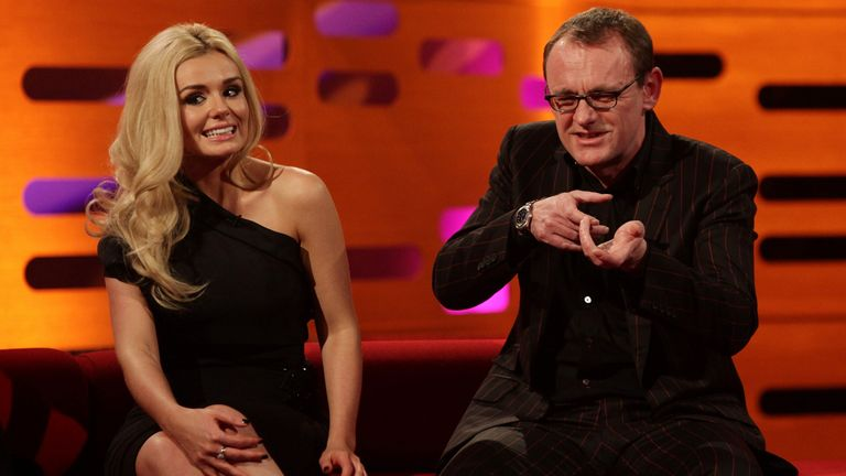 In 2010, Lock appeared alongside Katherine Jenkins on the Graham Norton Show
