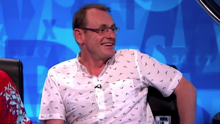 Sean Lock was known for panel shows 8 Out Of 10 Cats and 8 Out of 10 Cats Does Countdown.