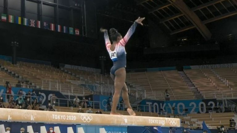 Simone Biles gets bronze at Tokyo Olympics