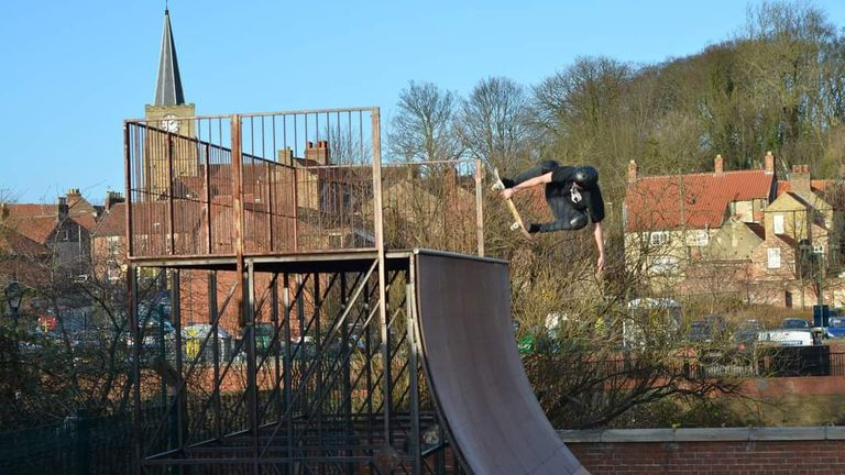 Campaigners say they have secured tens of thousands in funding to refurbish the halfpipe