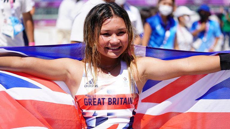 Brown is Great Britain's youngest ever Olympic medallist