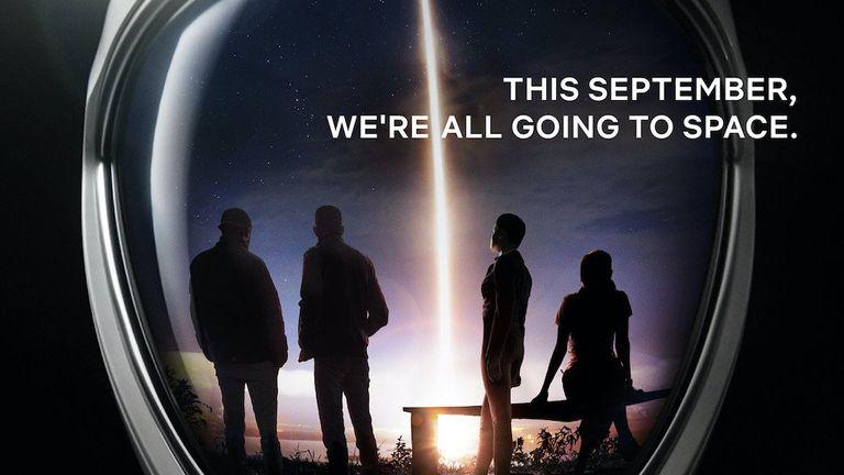 Netflix will document a civilian space mission. Pic: Netflix