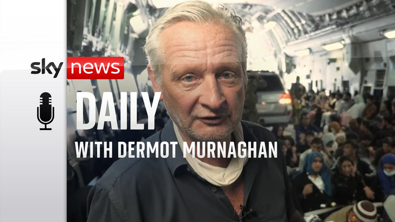 Sky's chief correspondent Stuart Ramsay and his team reported from Kabul as the Taliban took control of Afghanistan.