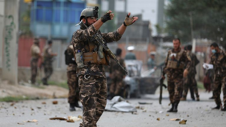 نیروهای نظامی در افغانستان