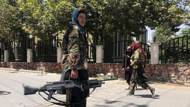 Since western forces left Afghanistan, Taliban forces have been taking control of provinces and entered Kabul over the weekend