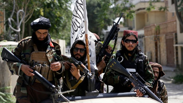 There is great concern members of the judiciary would be top of any Taliban hit list, with female judges most at risk. Pic: AP