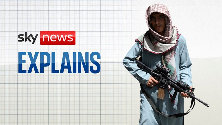 Sky News Explains: The Taliban and terrorism
