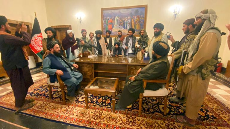 A Taliban spokesman said the nature of its rule will 'become clear soon'. Pic: AP