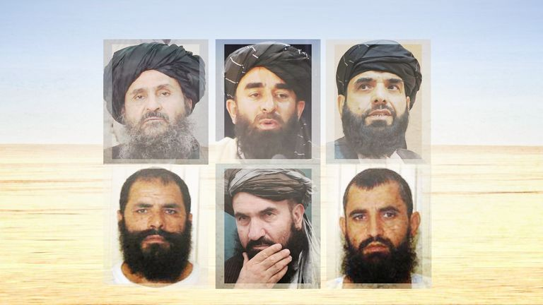 Some of the potential leaders of the Taliban's Islamic Emirate