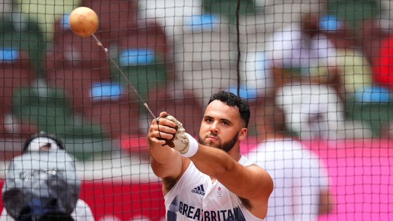 Campbell believes his experience in Tokyo will give him the confidence going into the Commonwealth Games next year and Paris 2024
