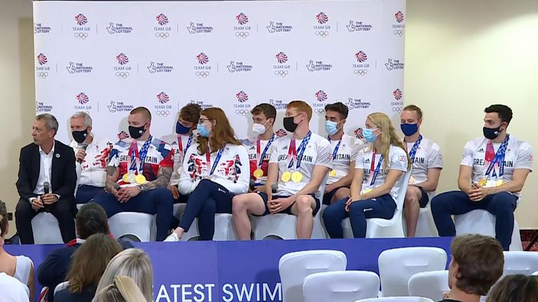'Best Olympics ever' as Team GB swimmers bring home eight medals.