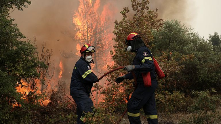 , what the latest IPCC report means for India, and the Greek island hit hard by wildfires. Plus, the project restoring Britain's wild flower meadows.