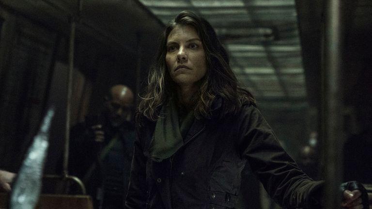 Lauren Cohan comme Maggie - The Walking Dead _ Saison 11 - Crédit photo : Josh Stringer/AMC