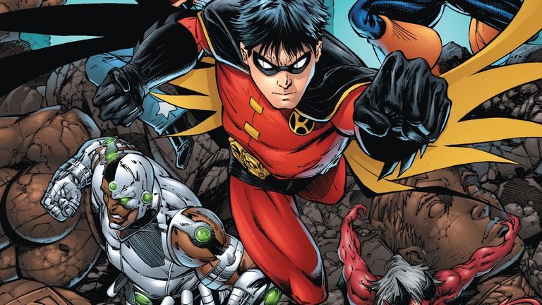 Tim Drake is one of the latest incarnations of the character. Pic: DC Comics