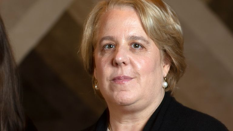 Roberta Kaplan has stood down from the board of Time's Up. Pic: AP