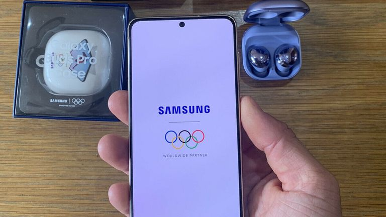 Campbell is selling his limited edition Samsung Galaxy and headphones