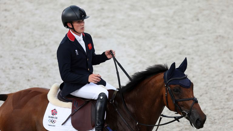 Tom McEwen added a silver medal to his earlier gold. Pic: AP