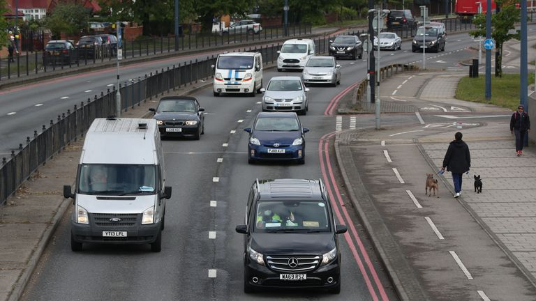 Transport accounts for a third of total emissions