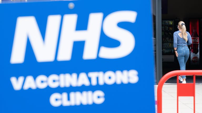 Teenagers aged 16 and 17 will be offered a vaccine dose before returning to school or college next month. File pic