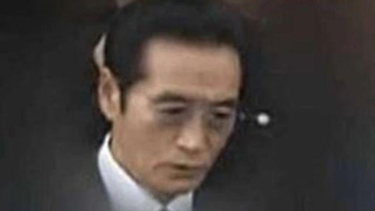 Satoru Nomura has been sentenced to death. Pic: ANN News