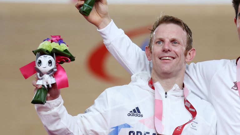 Jody Cundy is the first man in ParalympicsGB history to medal at seven Games.