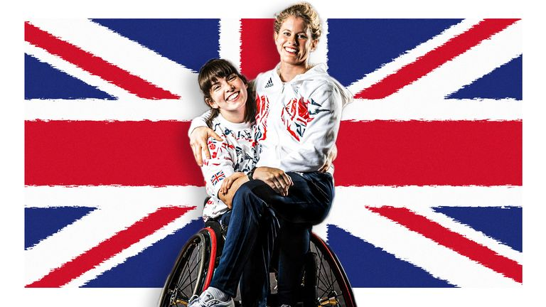 Laurie Williams Robyn Love ParalympicsGB wheelchair basketball