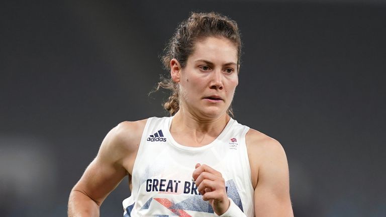 Kate French produced a stunning series of events in the modern pentathlon