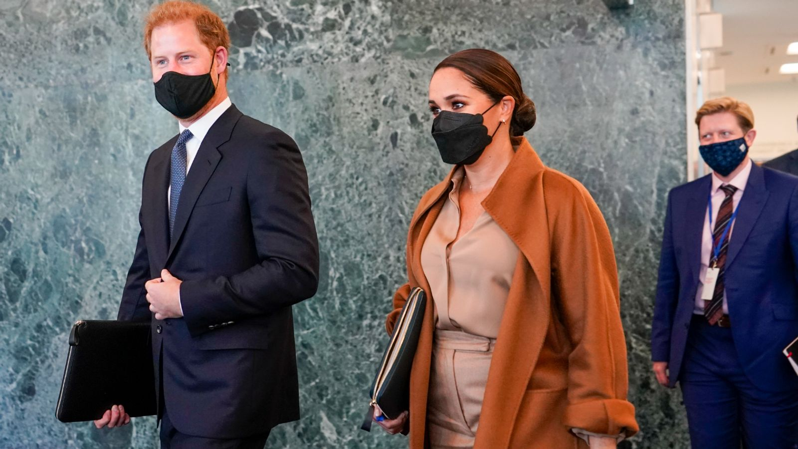 Prince Harry and Meghan meet top UN official amid world leaders' gathering in New York