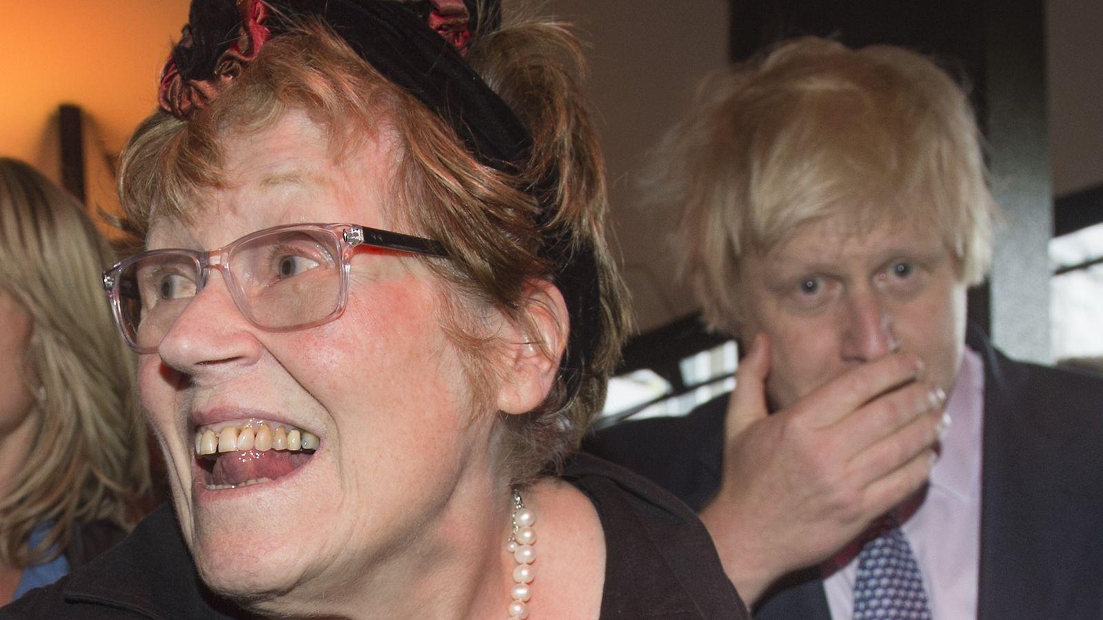 boris johnson mum - photo #2
