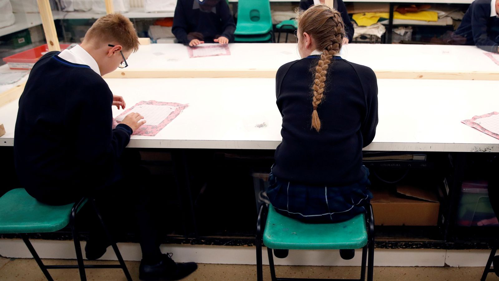 COVID-19: Case rates among schoolchildren in England hit new record high, latest figures show