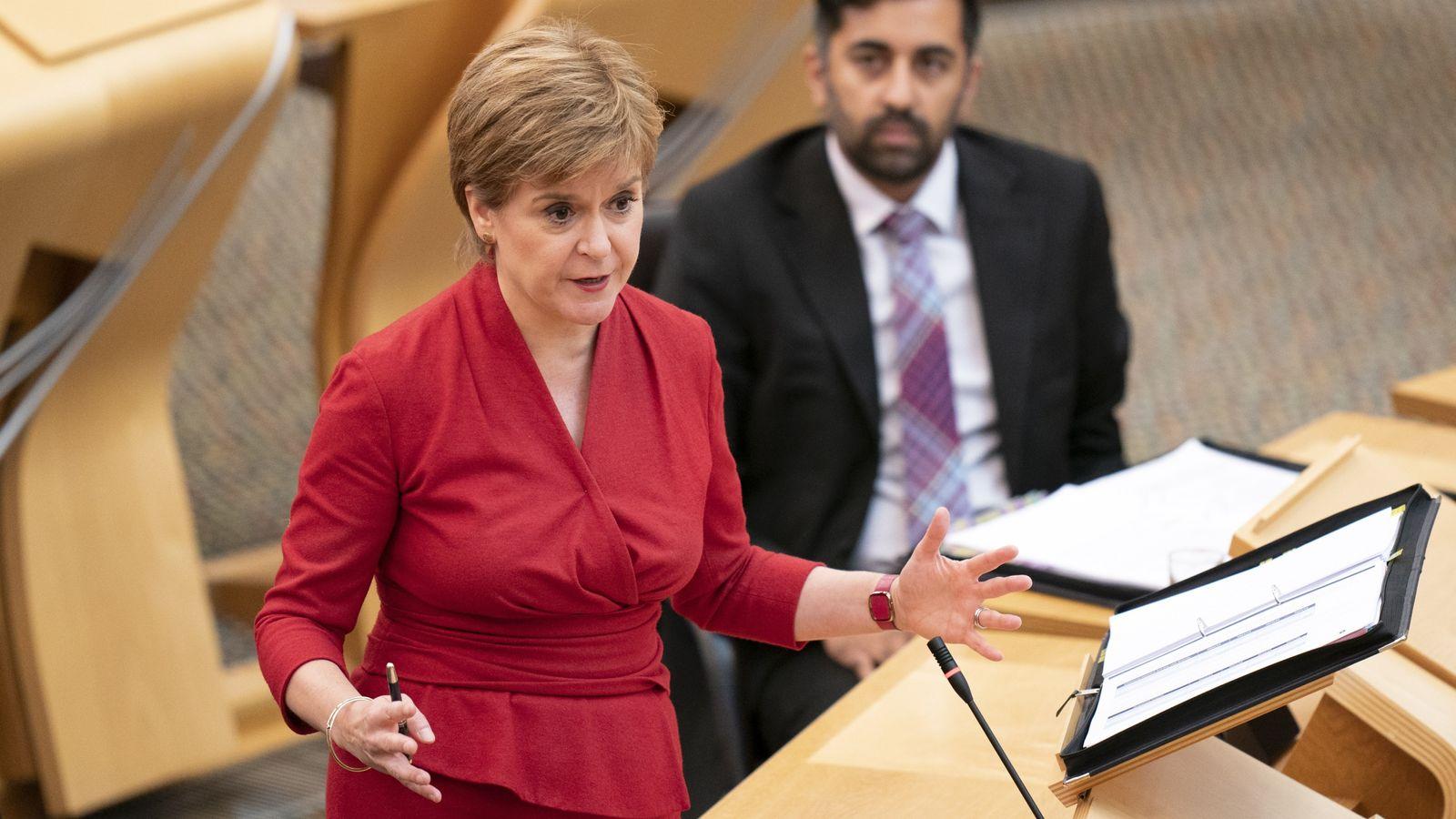 Nicola Sturgeon won't call new Scotland independence vote until COVID 'under control'