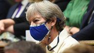 Theresa May Pic: UK Parliament/Jessica Taylor