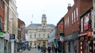 File photo dated 15/1/2021 of people walking along the high street in Loughborough, Leicestershire. The Prime Minister is being urged not to rip up another tax pledge by increasing the tax burden on high street shops, pubs and restaurants. Retail tax experts have warned that the Government could land firms with a 700 million rise in business rates in England next April unless it confirms changes to the property tax system. Issue date: Monday September 13, 2021.